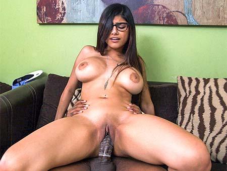 Mia Khalifa in Mia Khalifa Tries A Big Black Dick - BangBros Nude at the drive thru