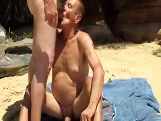 Nat invites a guy at the beach to give nat a headjob erotic humiliation of womrn