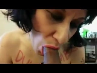 Breaking dumb whore - degradation project Blonde mature sucking cock movies