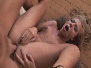 Chastity Lynn - Butt Fuck Bukkake Amateur chubby anal