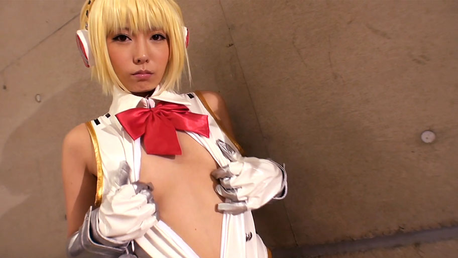 Chika Arimura in Aigis Persona Cosplay - CosplayInJapan the internet is for porn by avenue q