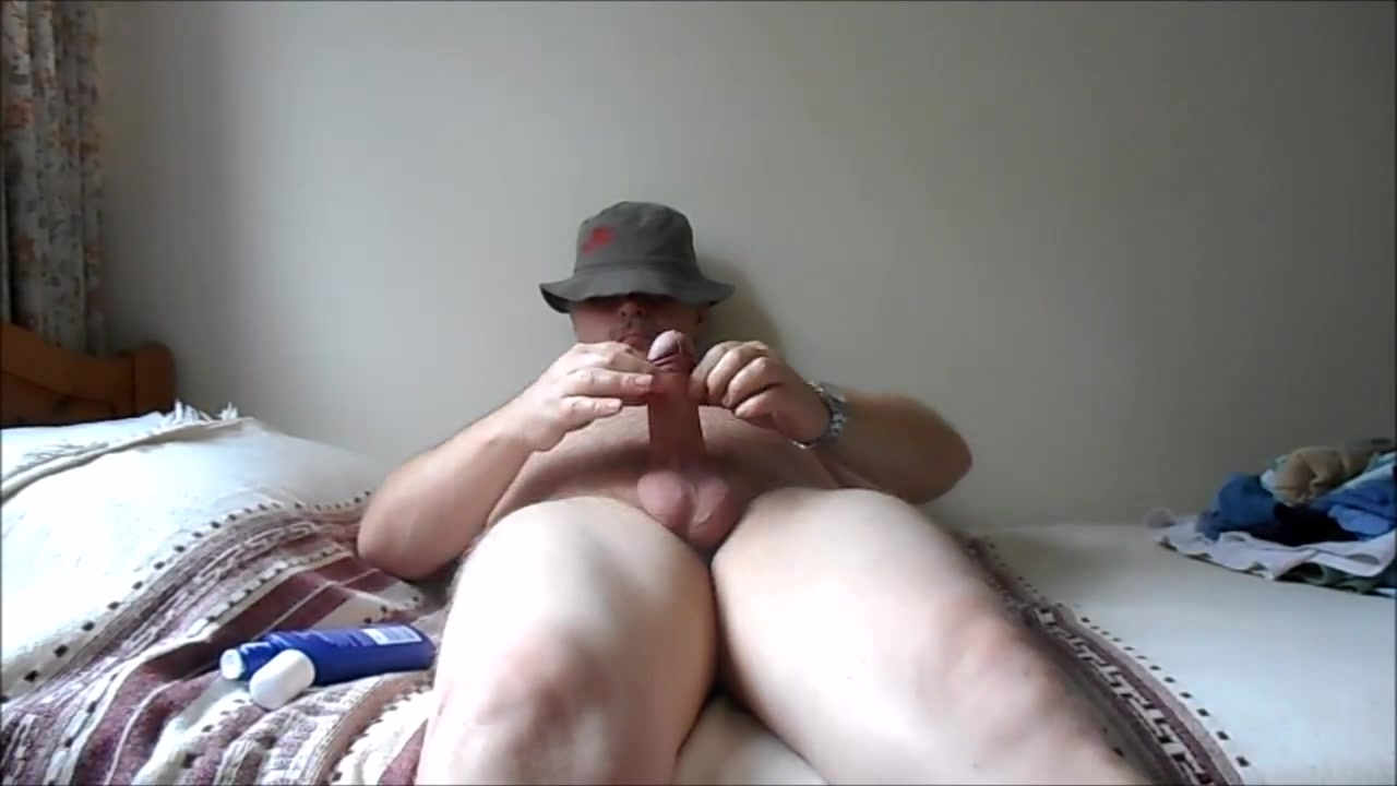 Afternoon Erection 3 Hairy mature with tan lines