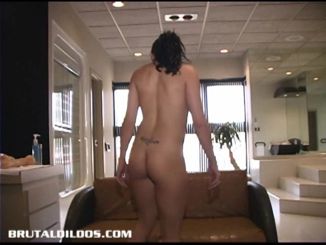 Angelinas Brutal Dildo Experience i fucked my sons girlfriend while he slept