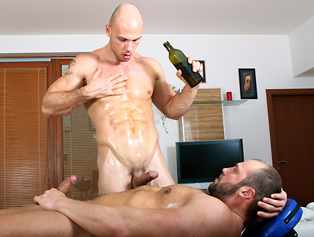 Oiled Up For Anal Pounding Scene - RubHim Milf Mixed Porn
