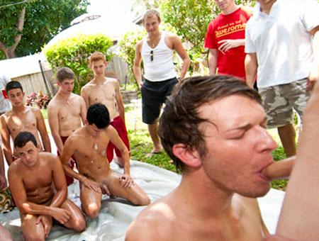 Cock n Slide - HazeHim drunk naked girls getting violated