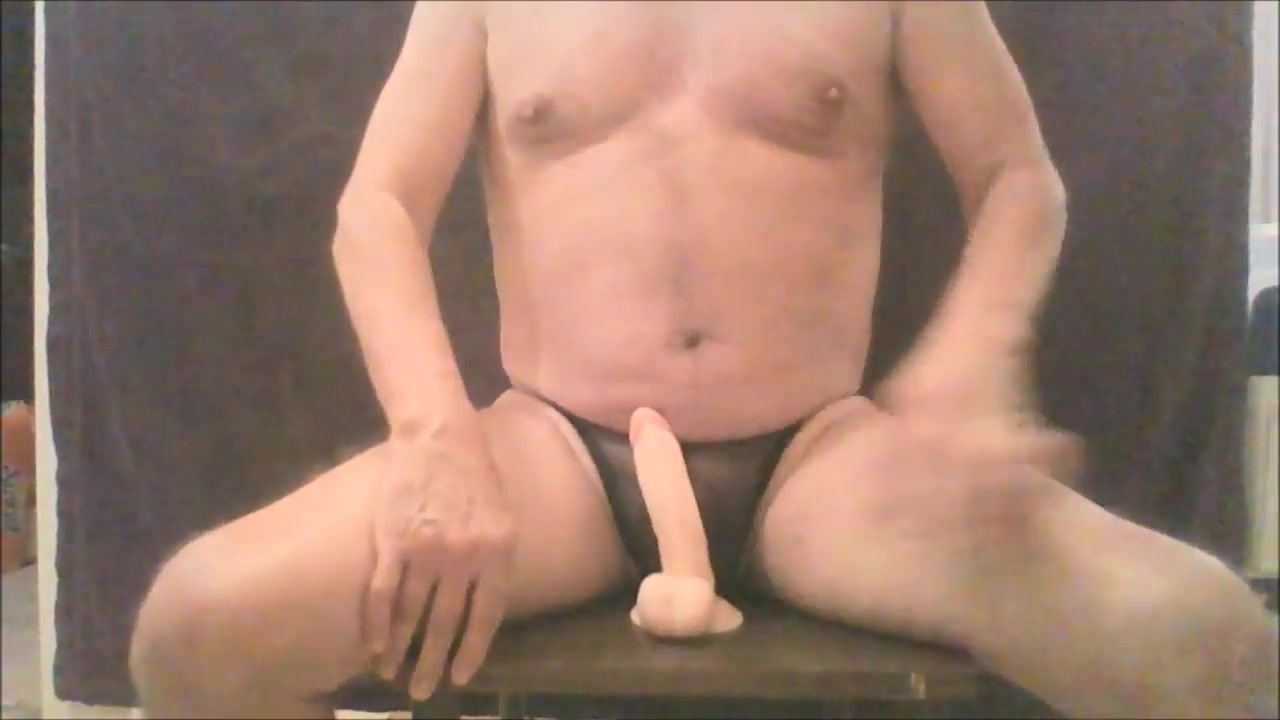 Riding my dildo milf squirt on face