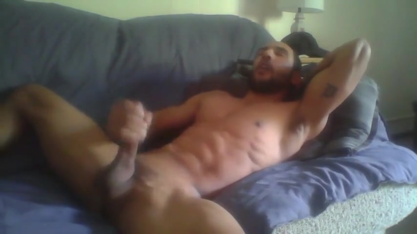 Fit guy on couch Best pussy in Wiesbaden