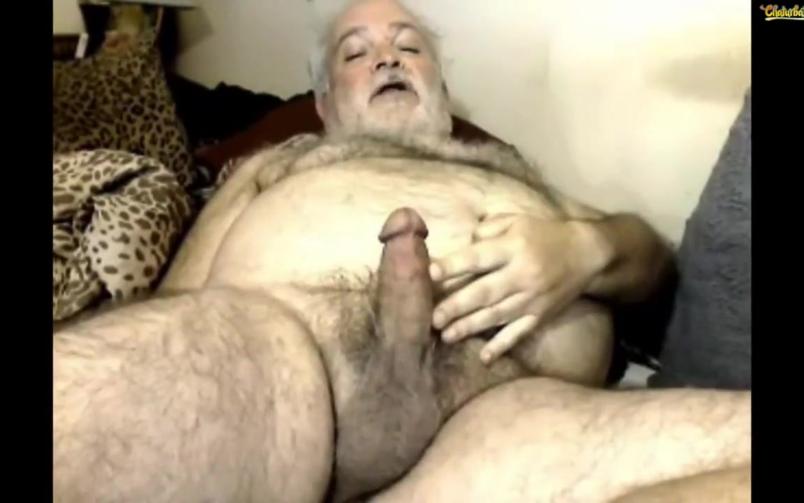 Hairy polar bear fingers his ass Antique vintage erotica