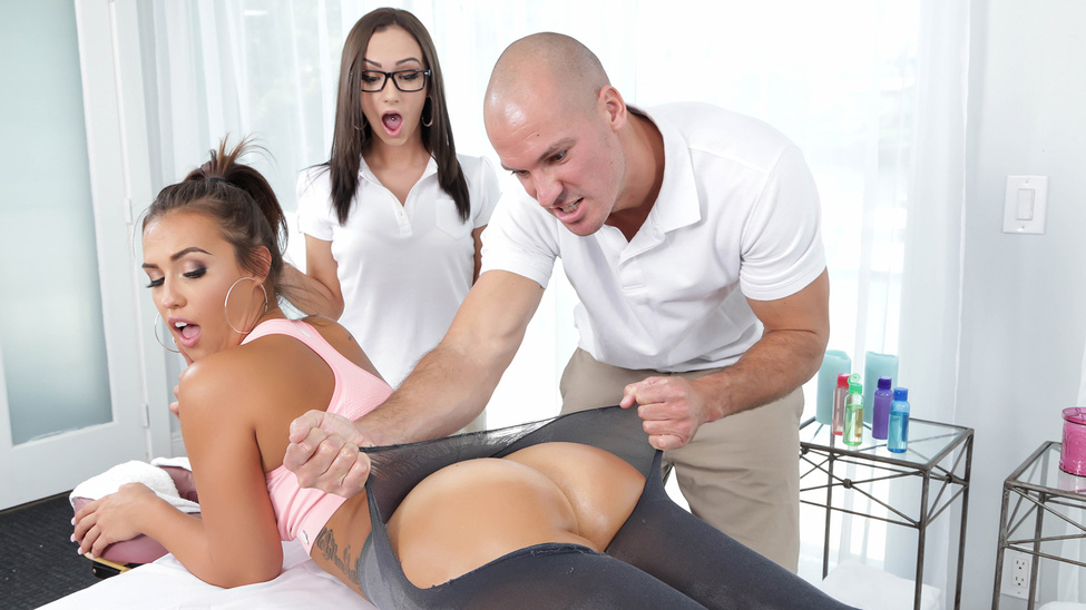 Kelsi Monroe & Lily Jordan & Sean Lawless in What the Client Wants the Client Gets - Brazzers Skinny naked small tit ebony girls
