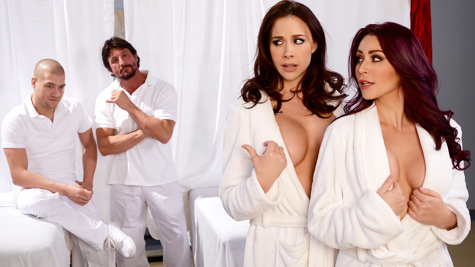Chanel Preston & Monique Alexander & Tommy Gunn & Xander Corvus in Lets Get Facials - Brazzers corbin bleu naked pictures