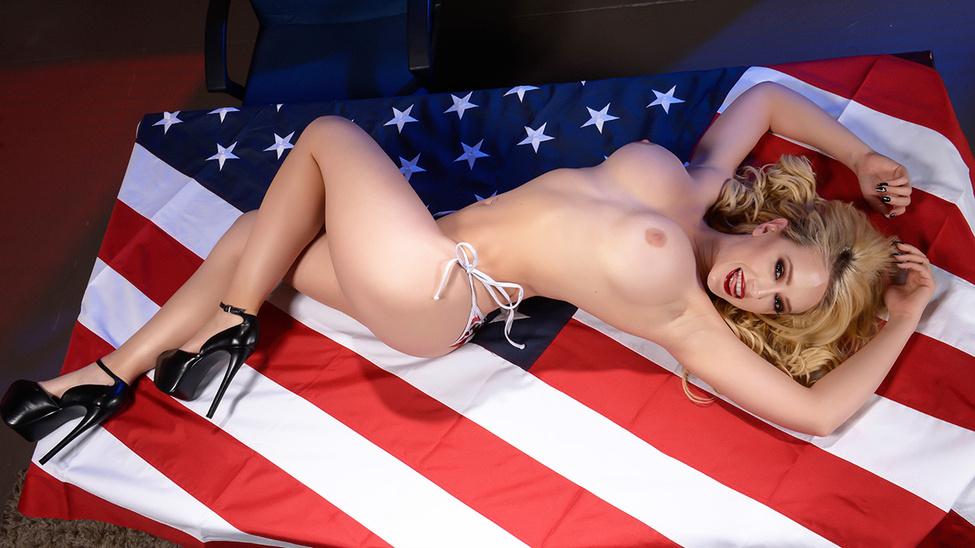 Kagney Linn Karter & Levi Cash in Deez Tits For President - Brazzers Sex games for phone online