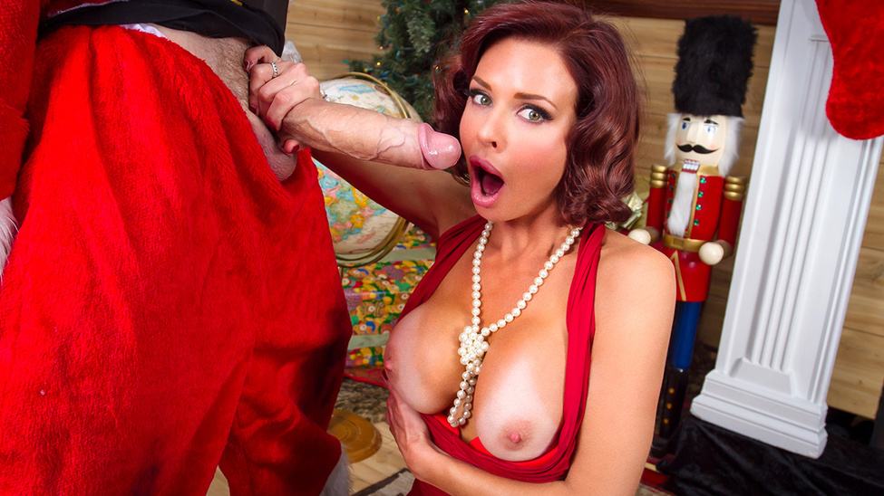 Veronica Avluv & Danny D in Chorrendose Sobre Santa - Brazzers American filipina wife naked