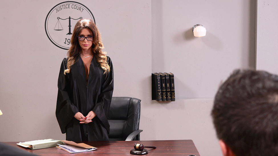 Jessica Jaymes & Keiran Lee in Judge Juggy - Brazzers Boys cant get me to orgasm