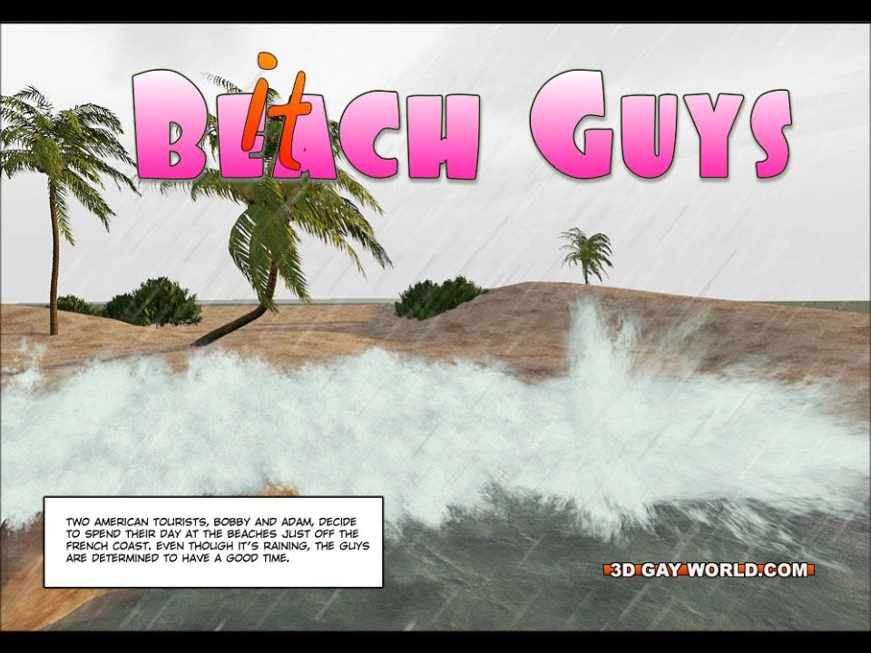 Hawaii Queens Surf Beach 3D Gay Animated Comics Anastasia agency marriage