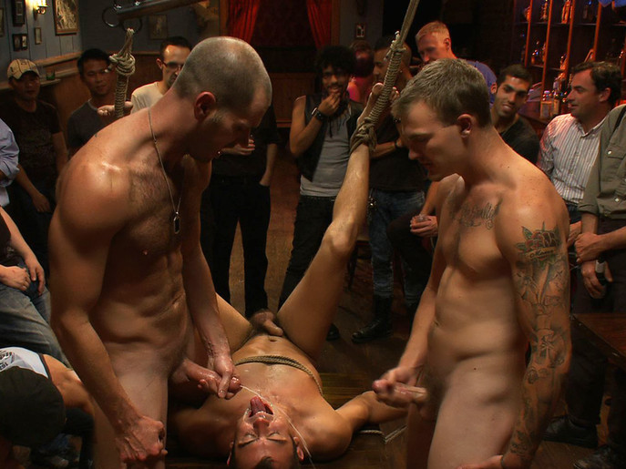 Bar Whore in Boundinpublic Video Bouncing tits tumblr gif