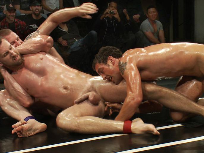 Cameron Adams and Phenix Saint vs Blake Daniels and DJ Live Audience Tag Team Match free high def blowjobs