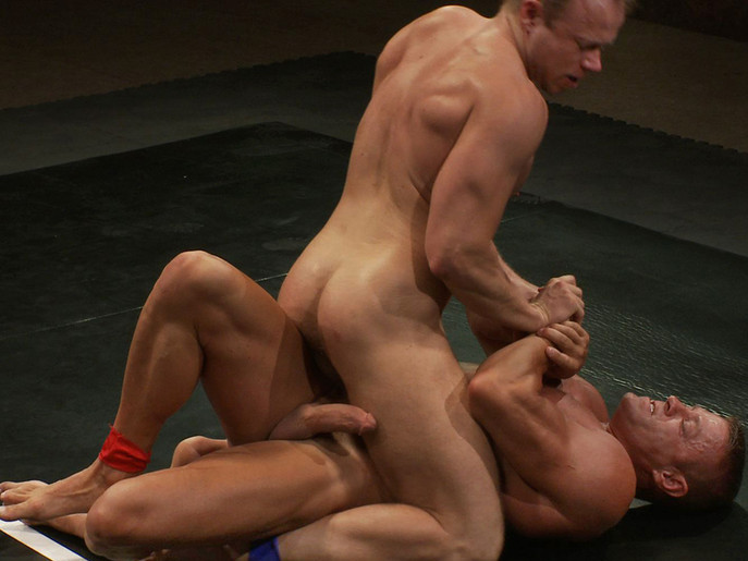 Muscle on Muscle - Tyler Saint takes on Ethan Hudson Eurotrash bukkake lesbos get off