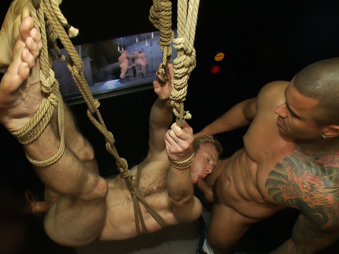 Two thugs drag a businessman into a porn shop and strip him of his manhood. eva angelina fucked and bound free iphone
