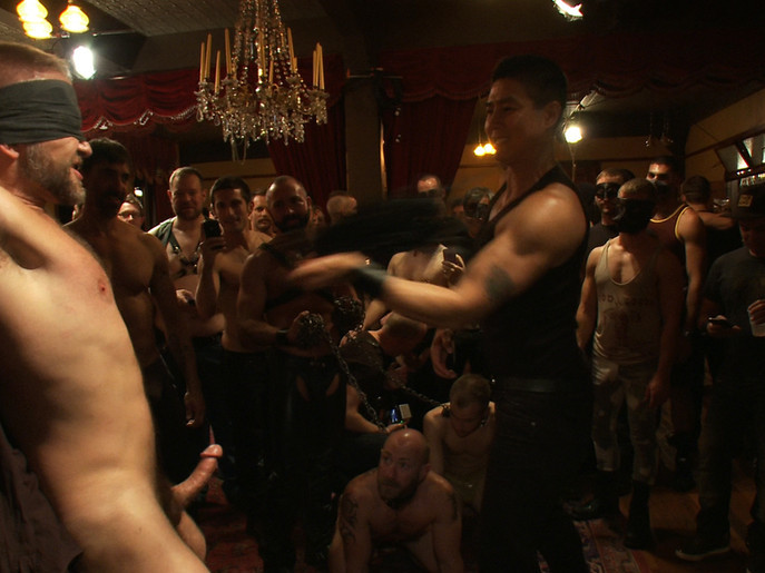Live Shoot: Dirk Caber and 200 horny men at Folsom weekend party. Hot chick nude tebowing
