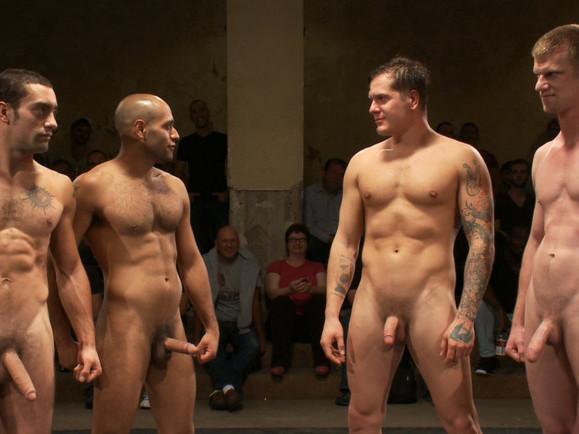 Intense Live Tag-Team Match! Big tits yvonne nude