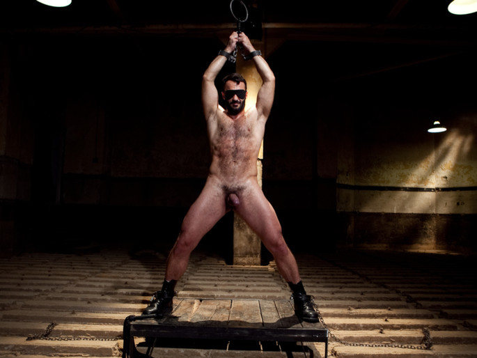 Wilfred Knight - Post Orgasm Torment in Mid Air Hardcore stud fucking