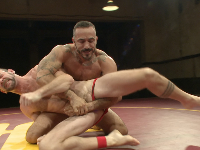 Clayton Pile-Driver Kent vs. Alessio El Lobo Romero - The Hairy Match xxx movie thumb post