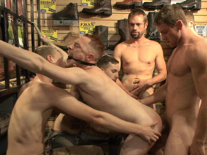Boot shop slut abused and gang fucked by coworkers First Time Fucking Of Mea Khalifa