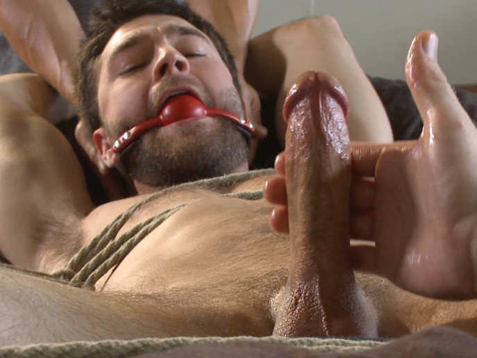 Hot bi hunks first time being bound and edged Sex with chubby chics