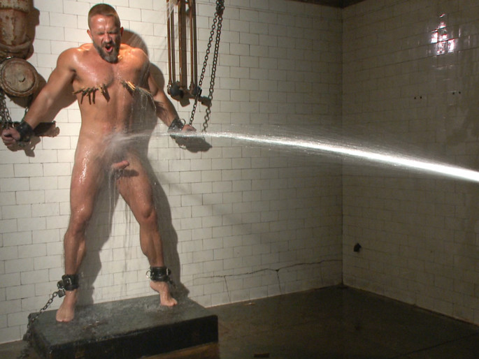 Muscled hunk Dirk Caber relentlessly tormented and his ass violated Adult exhibitionism info personal remember