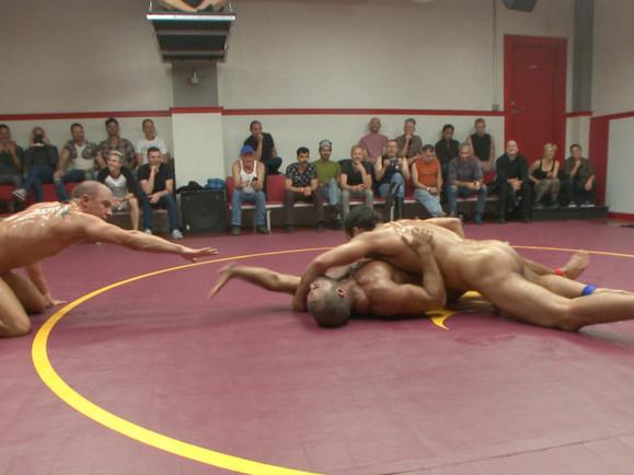 Live Tag Team Matchup: Jessie Colter & DJ vs Eli Hunter & Micah Brandt white virgins boobs breasts pussy