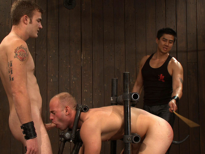 Dom Training Christian Wilde Live Shoot Darlings need to acquire their love tunnels tamed
