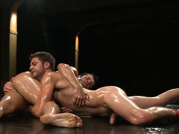 Dane Caroggio vs Tommy Defendi The Oil Match Big dick fuck porn