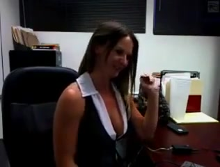 At The Office Amazing homemade Strapon Medical adult clip