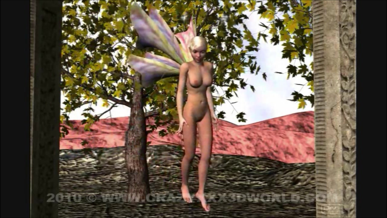 3D Animation: Fairy and Dragon Facial expression editor