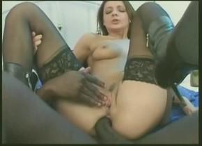 Amazing pornstar Black Widow in hottest big dick, cumshots sex movie