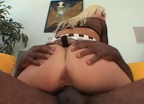 Fabulous pornstar Nicki Hunter in horny interracial, anal porn scene