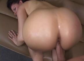 Incredible pornstar Caroline Pierce in amazing cumshots, brunette porn clip