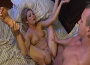 Horny pornstar Bailey Blue in hottest blonde, facial sex scene