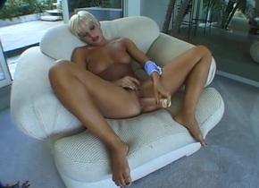 Fabulous pornstar in horny blonde, dildos/toys xxx movie