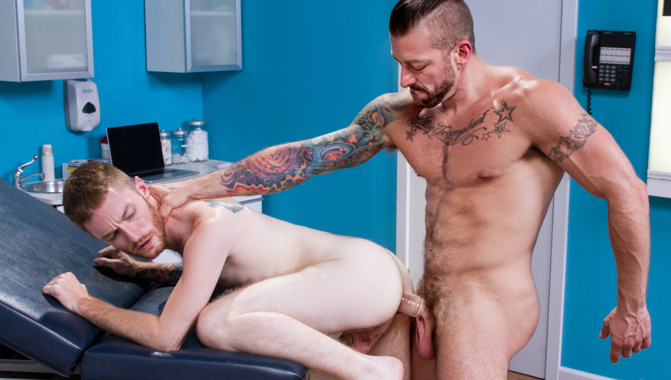 Deep Examination XXX Video: Seamus OReilly & Hugh Hunter - FalconStudios free porn videos cumshot