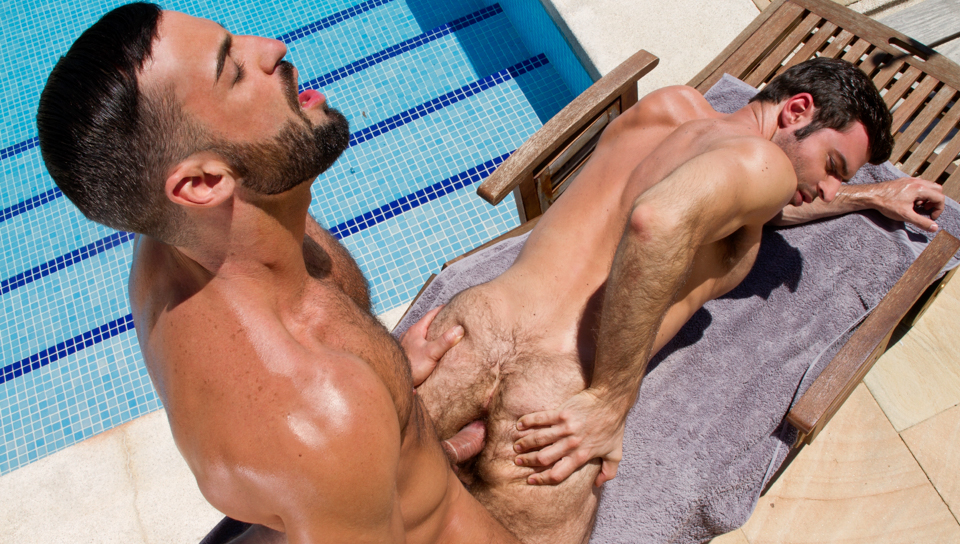 Gran Vista XXX Video: Abraham Al Malek & Dario Beck - FalconStudios sealy posturepedic latex pillow top