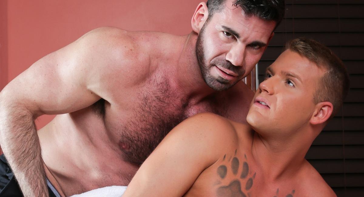 Billy Santoro & Brandon Wilde in Gay Massage House 4, Scene 03 - IconMale naked asian girl cartoon videos
