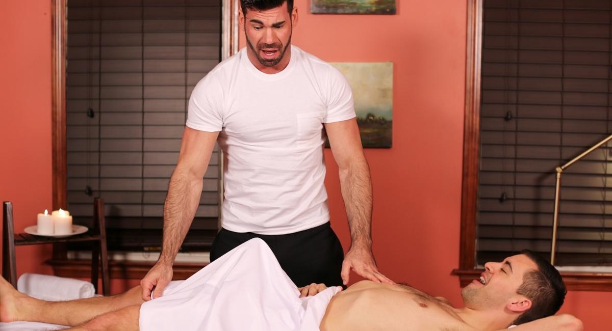 Billy Santoro & Josh Stone in Gay Massage House 4, Scene 02 - IconMale free 3d sex animations