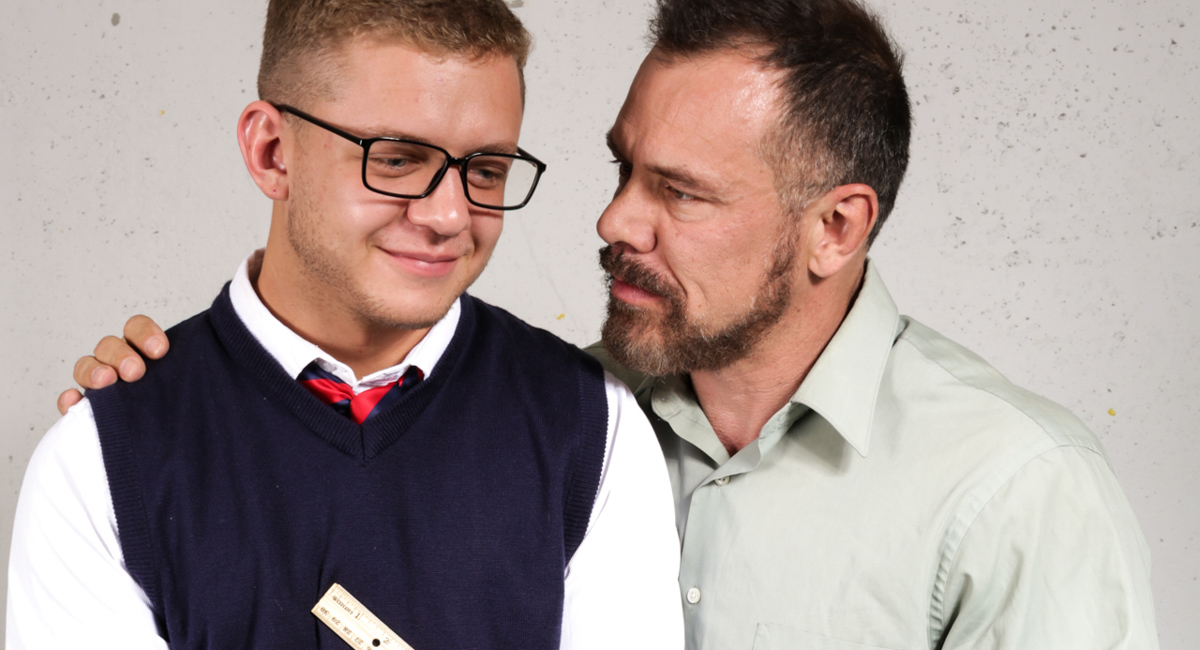 Ian Levine & Max Sargent in Teach Me in Private - IconMale Chubby bent over nude