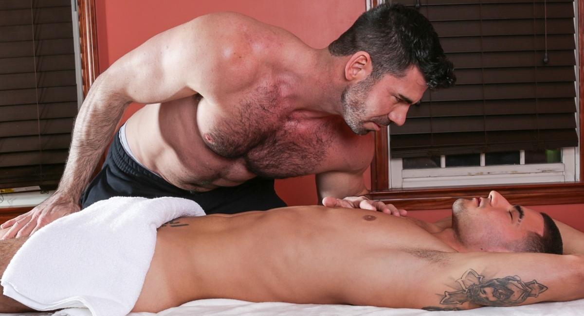 Billy Santoro & Vadim Black in Gay Massage House 4, Scene 01 - IconMale Scandal indonesian girls nude
