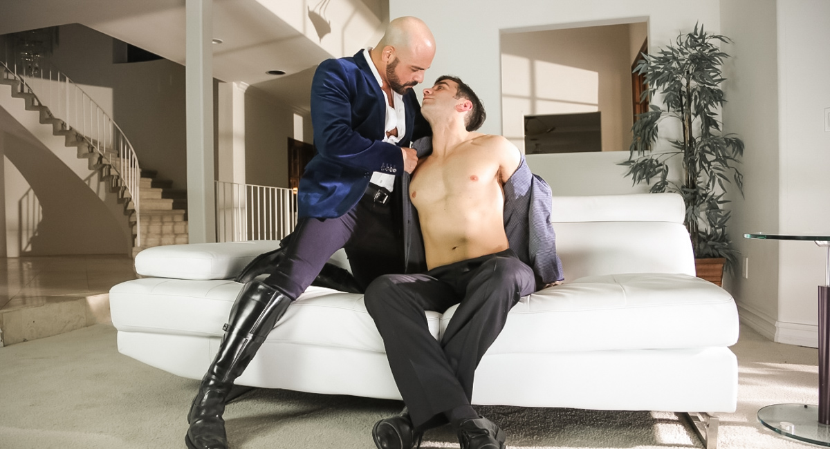 Adam Russo & Andy Banks in The Devil Is In The Details, Scene 04 - IconMale Spanking black women naked