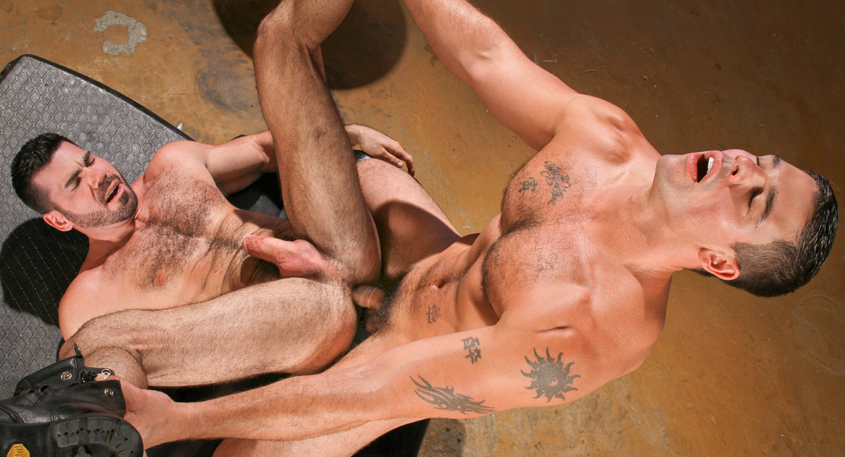 Billy Santoro & Derek Atlas in Auto Erotic Part 1, Scene 01 - HotHouse Hot mature fucks great m27