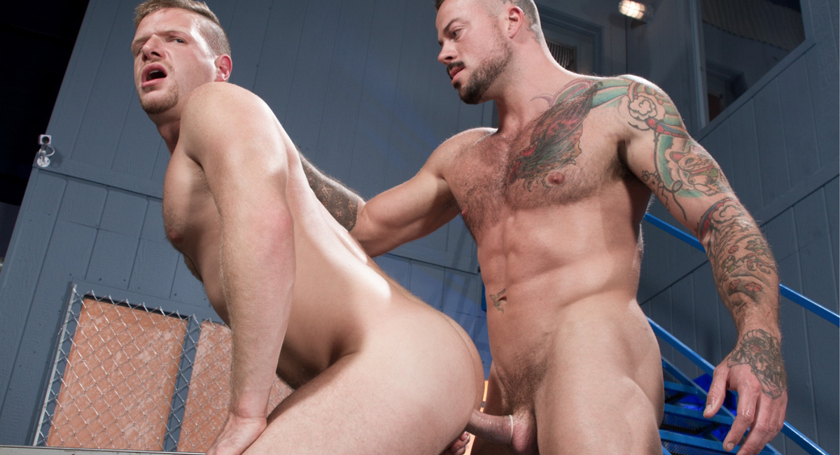 Brian Bonds & Sean Duran in Stiff Sentence, Scene 02 - HotHouse Hot milf spanked