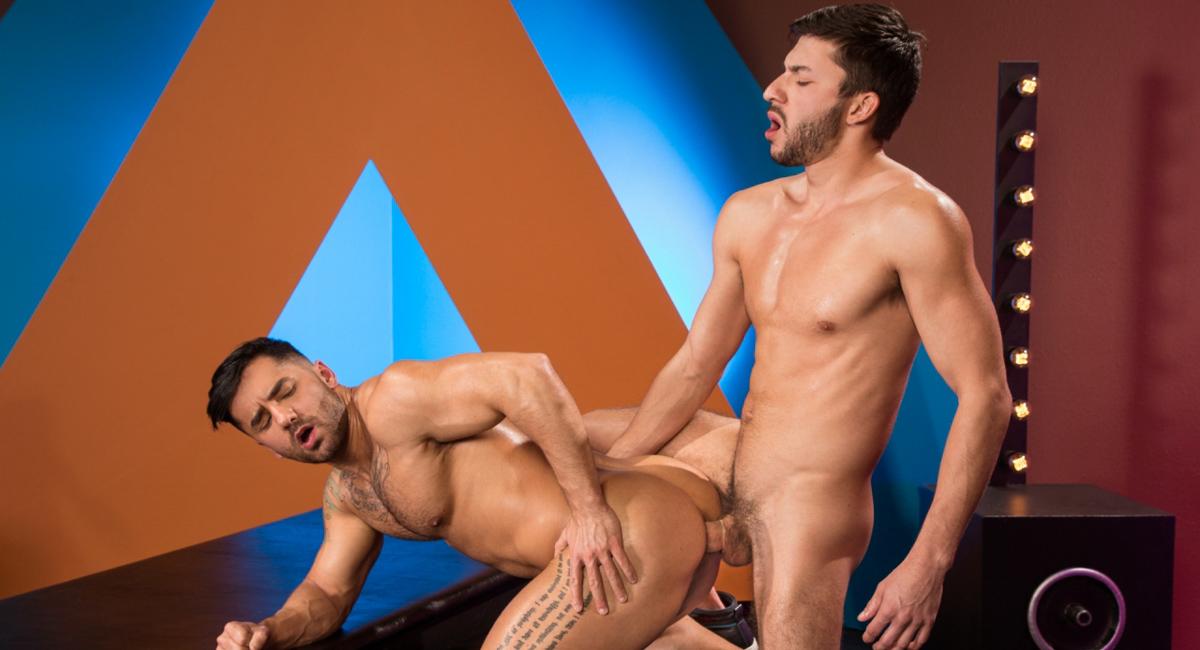 Bruno Bernal & Scott Demarco in The Thirst Is Real, Scene 01 - RagingStallion Sexy naked black vaginas