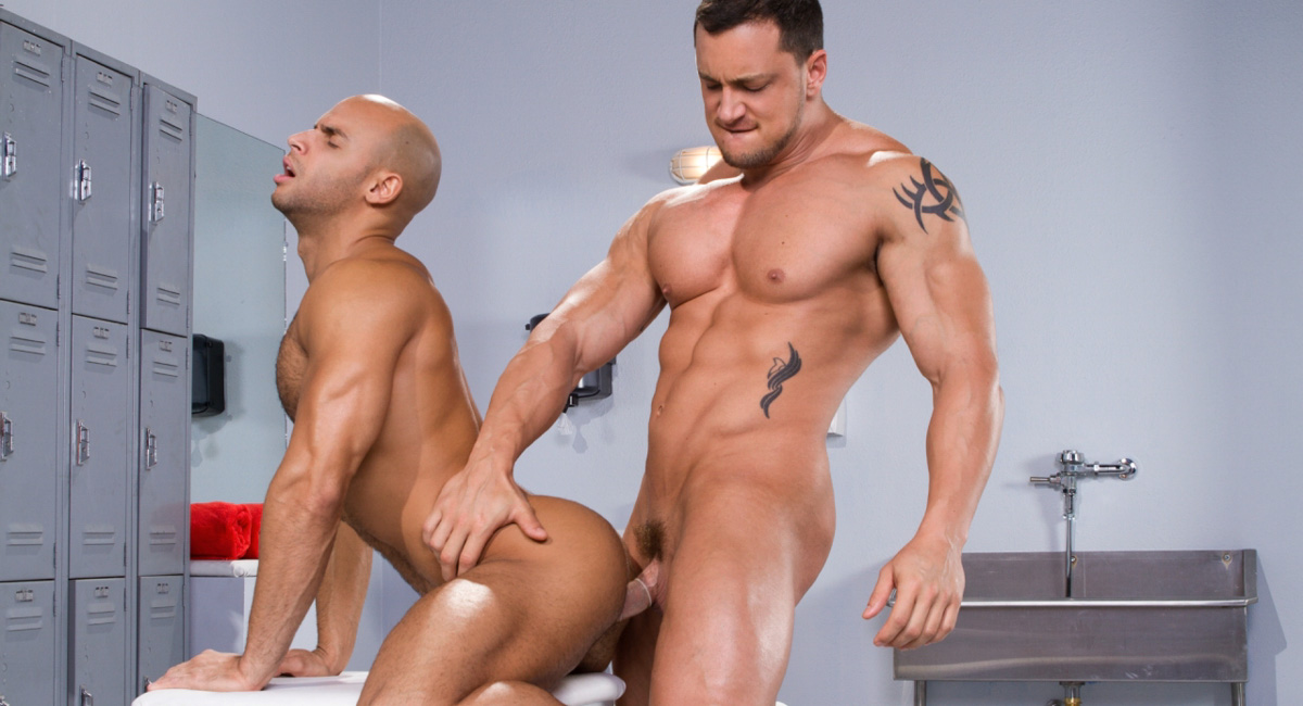 Sean Zevran & Joey D in Beef Squad, Scene 01 - RagingStallion How to sleep with a girl in one day